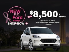 New 2020 Ford Escape Up To $8,500 In Savings*