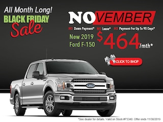 New 2019 Ford F-150 Black Friday Sale