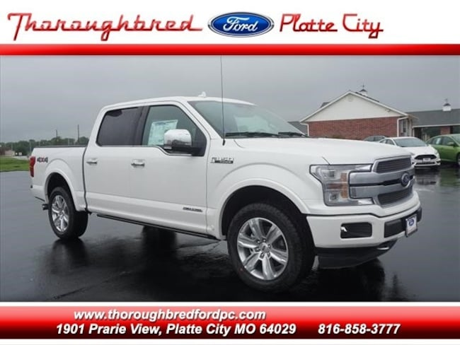 2018 Ford F-150 4WD Platinum Supercrew Truck