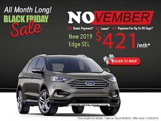 New 2019 Ford Edge Black Friday Sale