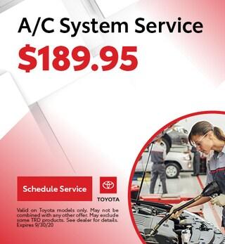 A/C System Service