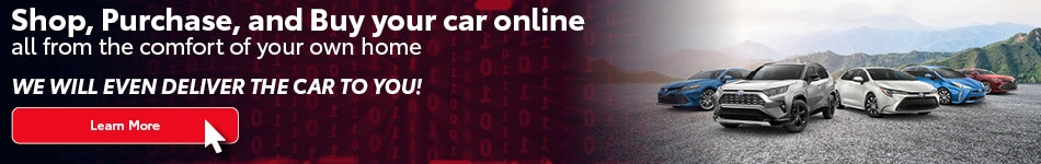 Shop, Purchase and Buy your car online