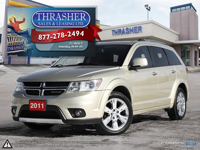 2011 Dodge Journey R/T, AWD, Leather, Sunroof, Nav, Only 87, 072 KMS! SUV