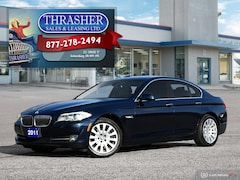 2011 BMW 535i MID SIZE BMW RWD HANDLING & PERFORMANCE!! Sedan