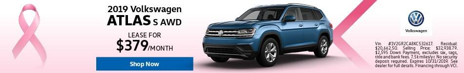 2019 Volkswagen Atlas Lease