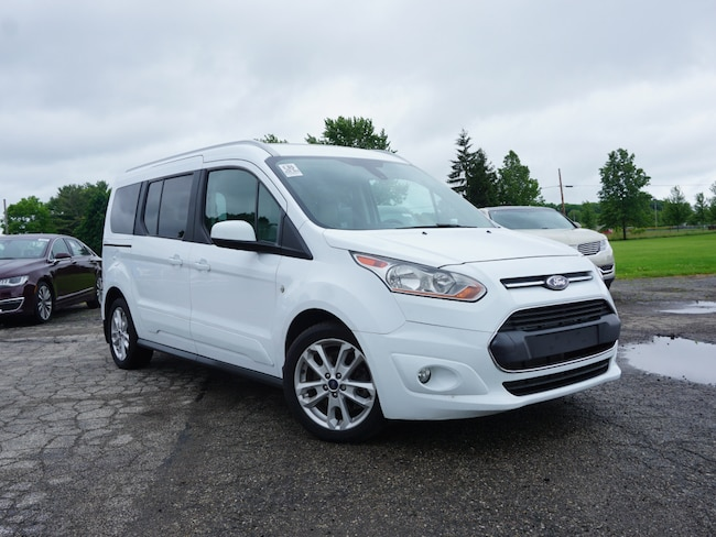 2016 Ford Transit Connect Titanium w/Rear Liftgate Wagon Wagon LWB