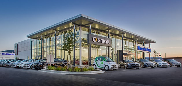 Mercedes benz nanaimo new smart dealership in nanaimo for Mercedes benz dealer northern blvd
