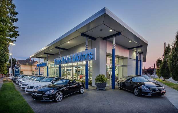 Three Point Motors Victoria New Smart Dealership In
