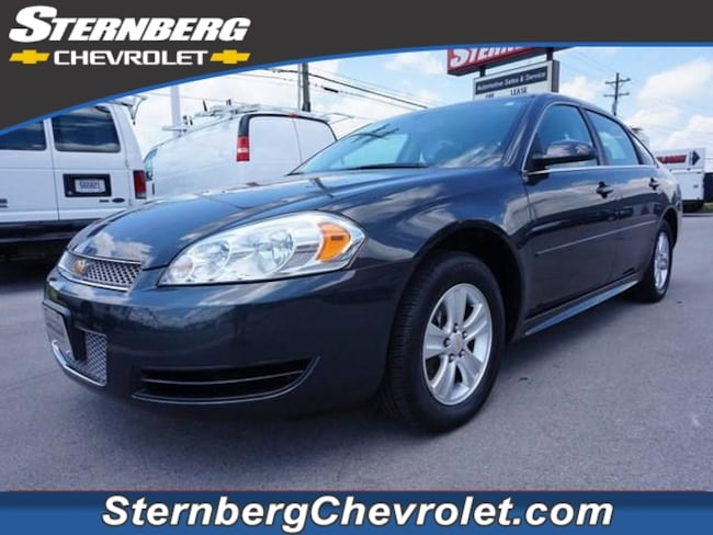 Used 2014 Chevrolet Impala Limited 4DR SDN LS Fleet sedan CU5167 Jasper IN