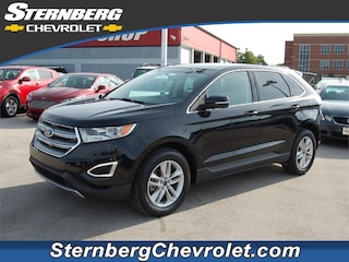 Used cars & trucks 2016 Ford Edge SEL SUV CU5076 for sale near Evansville IN, Bedford IN, Owensboro KY