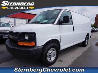 Used cars & trucks 2014 Chevrolet Express 3500 Work Van Cargo Van CU5676 for sale near Evansville IN, Bedford IN, Owensboro KY