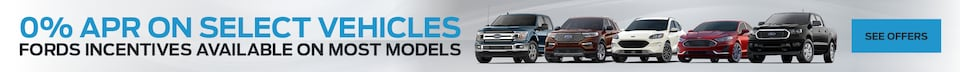 0% APR on select Vehicles - Jan