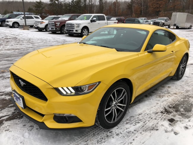 Certified 2017 Ford Mustang EcoBoost Fastback Coupe For Sale in Hayward, WI