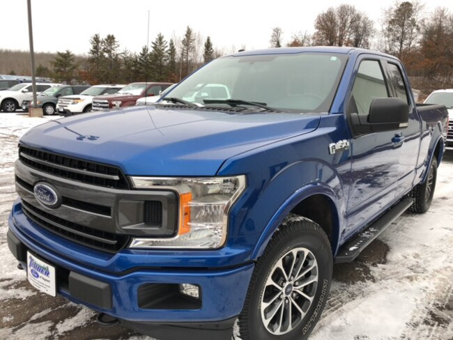 Used 2018 Ford F-150 XLT 4x4 SuperCab Styleside 6.5 ft. box 145 in. WB Truck SuperCab Styleside For Sale in Hayward, WI