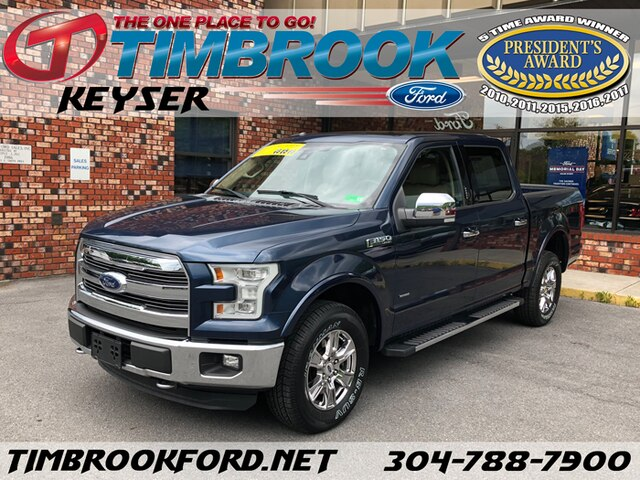 2015 Ford F-150 MED Crew Cab Truck