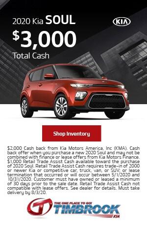 2020 Kia Soul - Savings