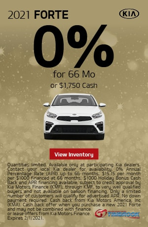 2021 Kia Forte - 0% APR