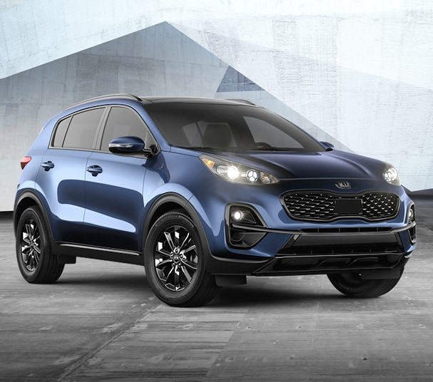 ALL-NEW 2021 SPORTAGE NIGHTFALL