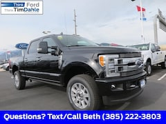 New 2019 Ford F-350 Limited Truck 1FT8W3BTXKEE41053 for Sale in Spanish Fork