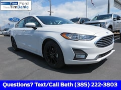 New 2019 Ford Fusion SE Sedan 3FA6P0HDXKR215746 for Sale in Spanish Fork