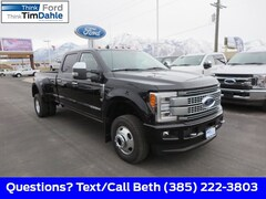 New 2019 Ford F-350 Platinum Truck 1FT8W3DT1KEE12487 for Sale in Spanish Fork