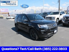 New 2019 Ford Explorer XLT SUV 1FM5K8D86KGA40975 for Sale in Spanish Fork