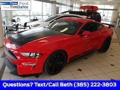 New 2018 Ford Mustang Ecoboost Premium Coupe 1FA6P8TH3J5104627 for Sale in Spanish Fork