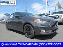 New 2019 Ford Fusion SE Sedan 3FA6P0HD0KR232135 for Sale in Spanish Fork