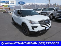 New 2019 Ford Explorer XLT SUV 1FM5K8DHXKGB53618 for Sale in Spanish Fork