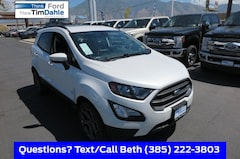 New 2018 Ford EcoSport SES SUV MAJ6P1CL4JC199299 for Sale in Spanish Fork