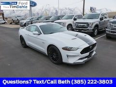 New 2019 Ford Mustang GT Premium Coupe 1FA6P8CF1K5134824 for Sale in Spanish Fork