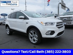 New 2019 Ford Escape Titanium SUV 1FMCU9J95KUB27580 for Sale in Spanish Fork