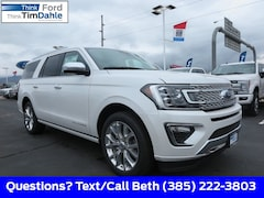 New 2019 Ford Expedition Max Platinum SUV 1FMJK1MT2KEA46200 for Sale in Spanish Fork