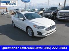 New 2019 Ford Fusion Hybrid SE Sedan 3FA6P0LU4KR173274 for Sale in Spanish Fork