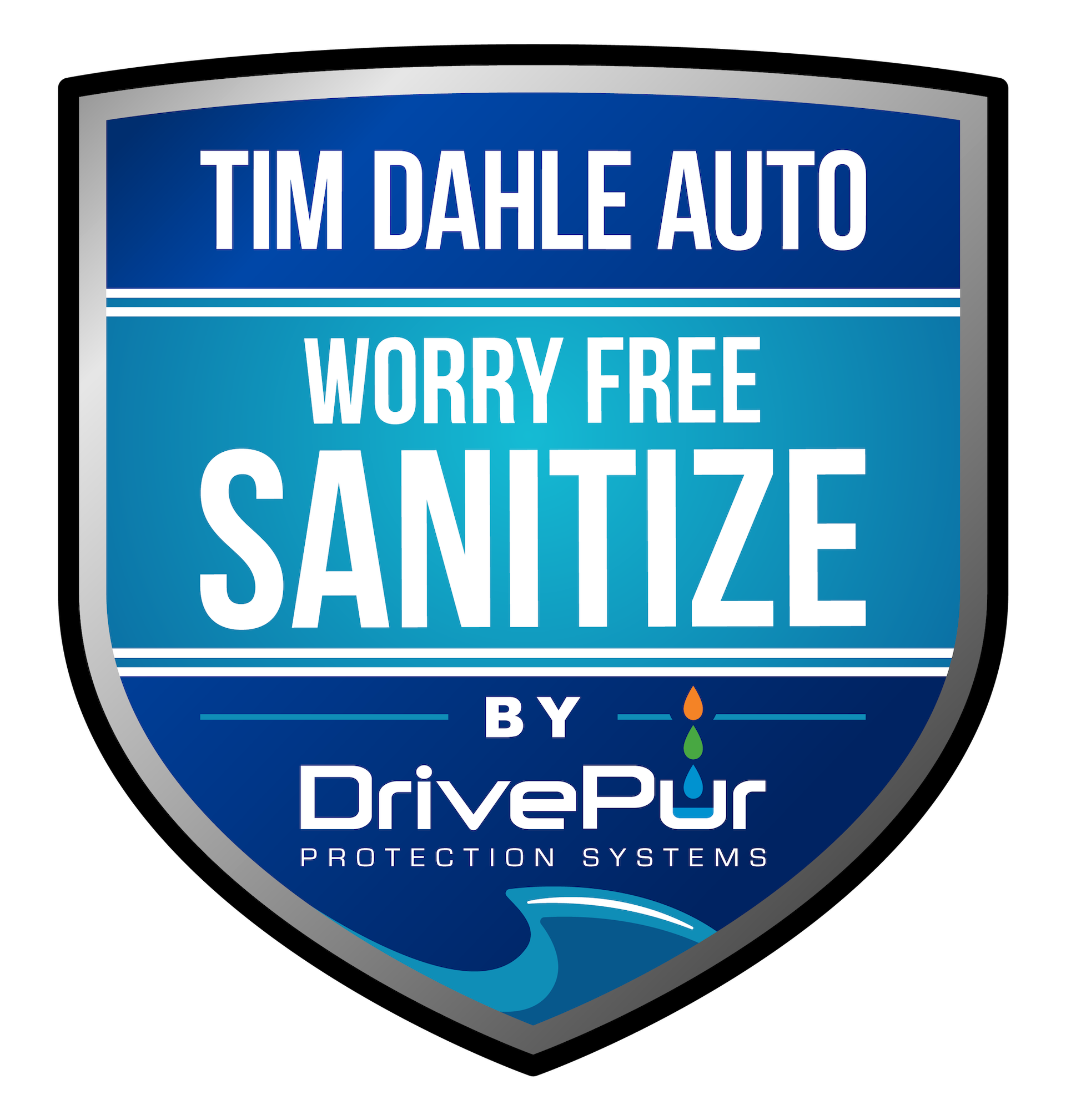 Tim Dahle Ford Worry Free Sanitize