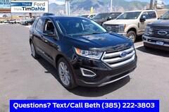 New 2018 Ford Edge Titanium SUV 2FMPK4K91JBC23333 for Sale in Spanish Fork