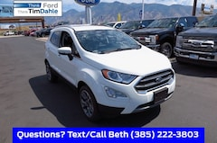 New 2018 Ford EcoSport Titanium SUV MAJ6P1WL6JC211450 for Sale in Spanish Fork