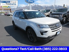New 2019 Ford Explorer XLT SUV 1FM5K8DH9KGA89538 for Sale in Spanish Fork