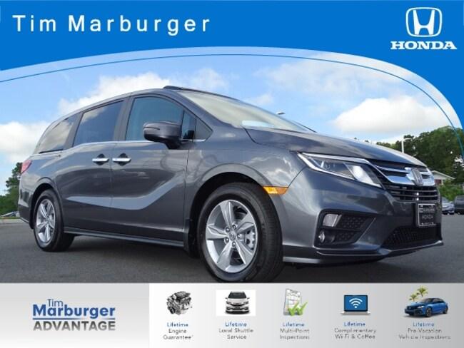 2019 Honda Odyssey EX-L w/Navigation and Rear Entertainment System Minivan/Van