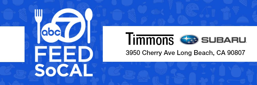 Timmons Subaru of Long Beach helps feed the homeless with FeedSoCal and ABC7