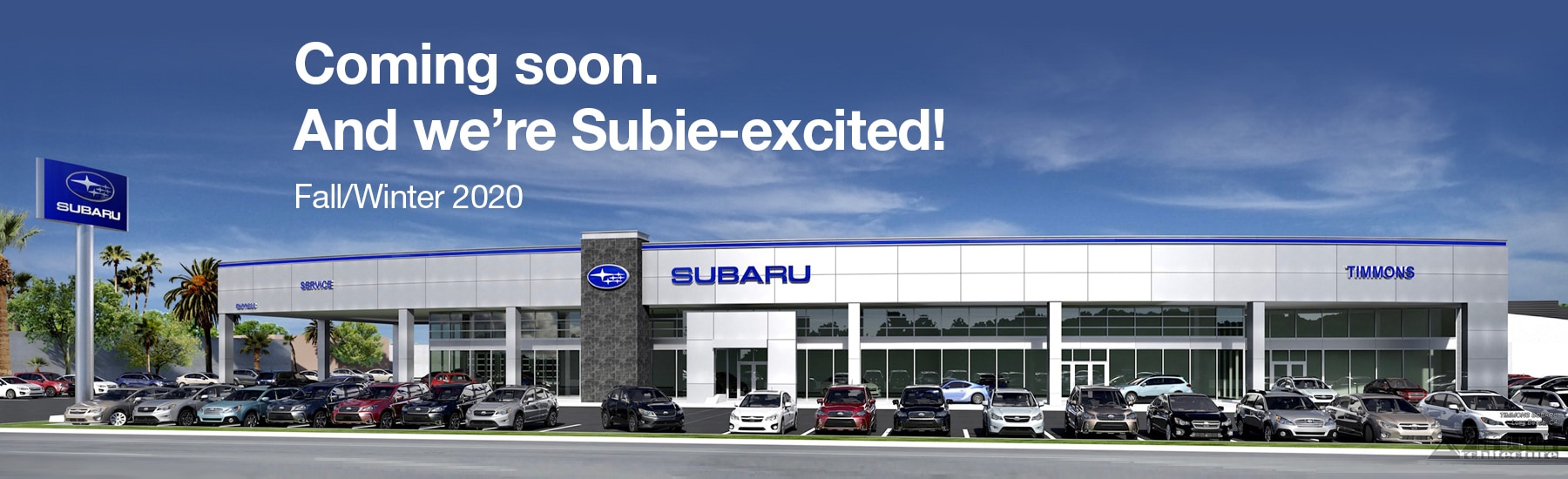 Timmons Subaru is building a new dealership
