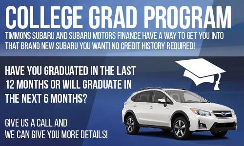 Timmons Subaru New Subaru Dealership In Long Beach CA - Subaru graduate program