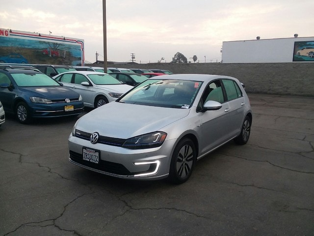 2016 Volkswagen e-Golf SEL Premium Automatic Hatchback
