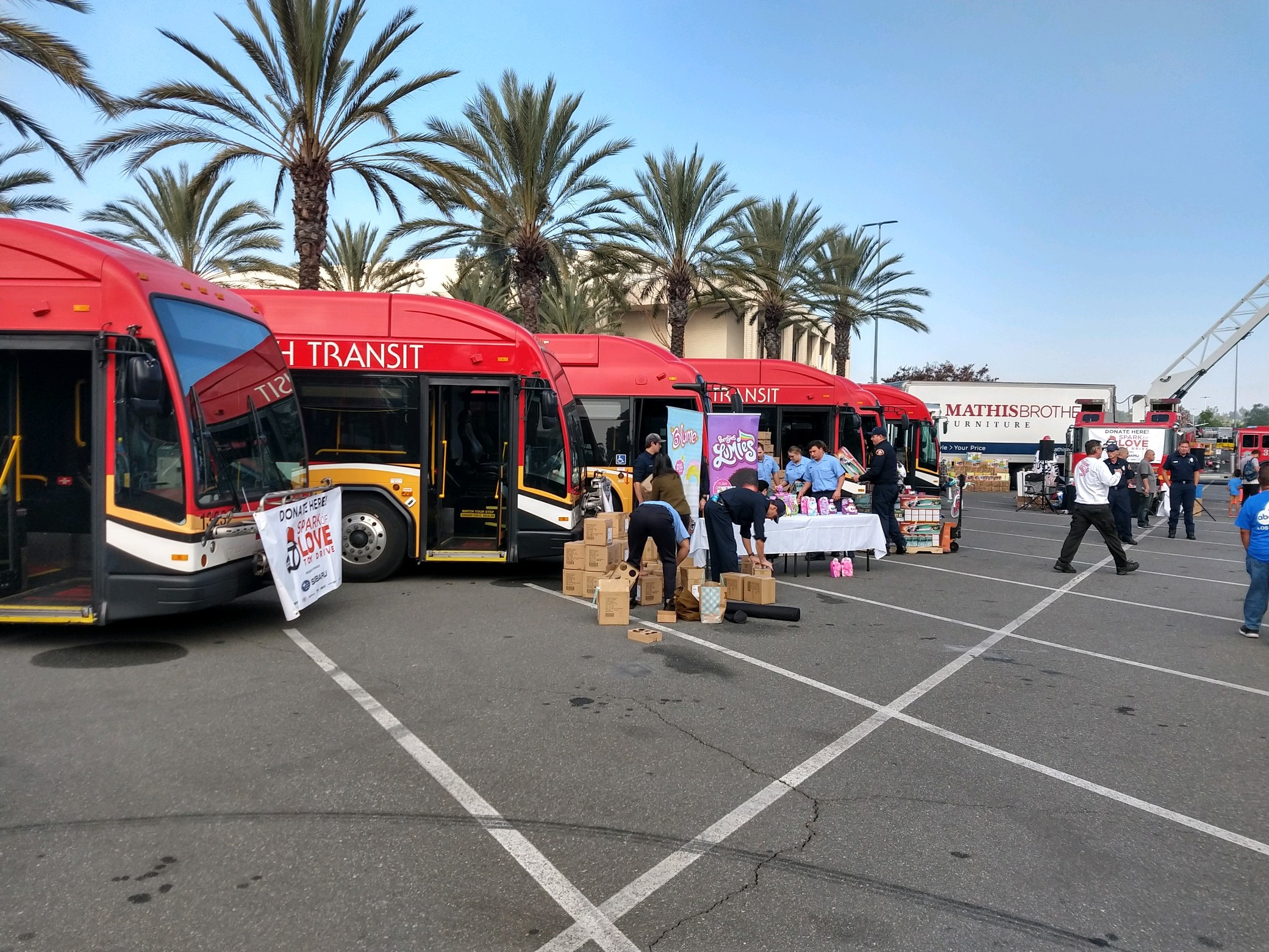 Timmons of Long Beach proudly supports and participates in the ABC 7 Stuff a Bus Toy Drive Charity Event for children presented by Subaru