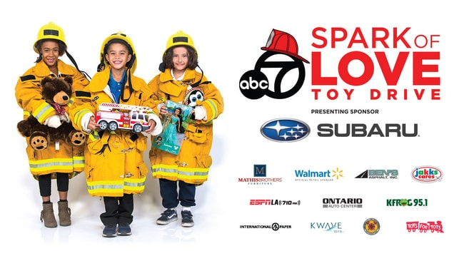 Timmons Subaru of Long Beach is proud to be a part of the Spark of Love Toy Drive