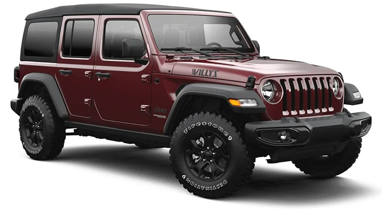 2021 Jeep Wrangler Willys Sport