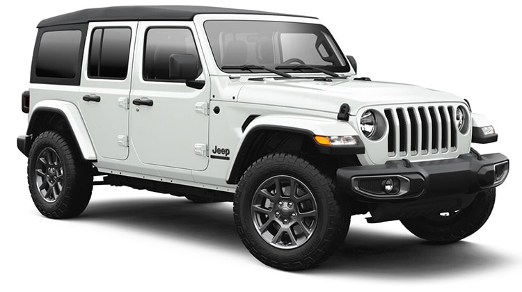 2021 Jeep Wrangler 80th Anniversary