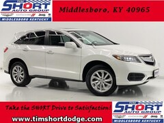 Used 2017 Acura RDX V6 AWD SUV for Sale in Middlesboro, KY at Tim Short Dodge Chrysler Jeep Ram