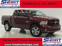 New 2019 Ram 1500 CLASSIC EXPRESS CREW CAB 4X4 5'7 BOX Crew Cab 1C6RR7KTXKS508651 for Sale in Middlesboro, KY at Tim Short Dodge Chrysler Jeep Ram