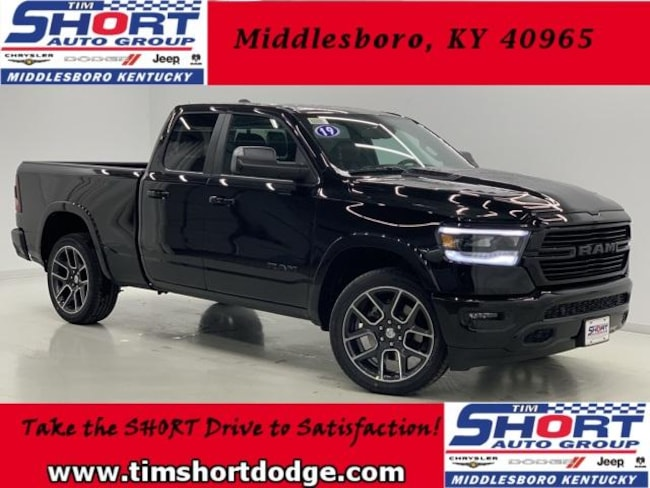 New 2019 Ram 1500 LARAMIE QUAD CAB 4X4 6'4 BOX Quad Cab for Sale in Middlesboro, KY at Tim Short Dodge Chrysler Jeep Ram